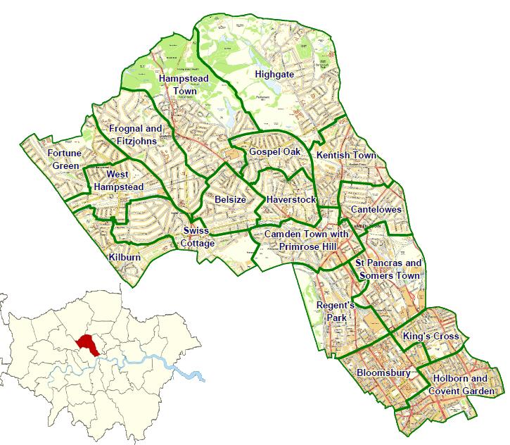 london camden map