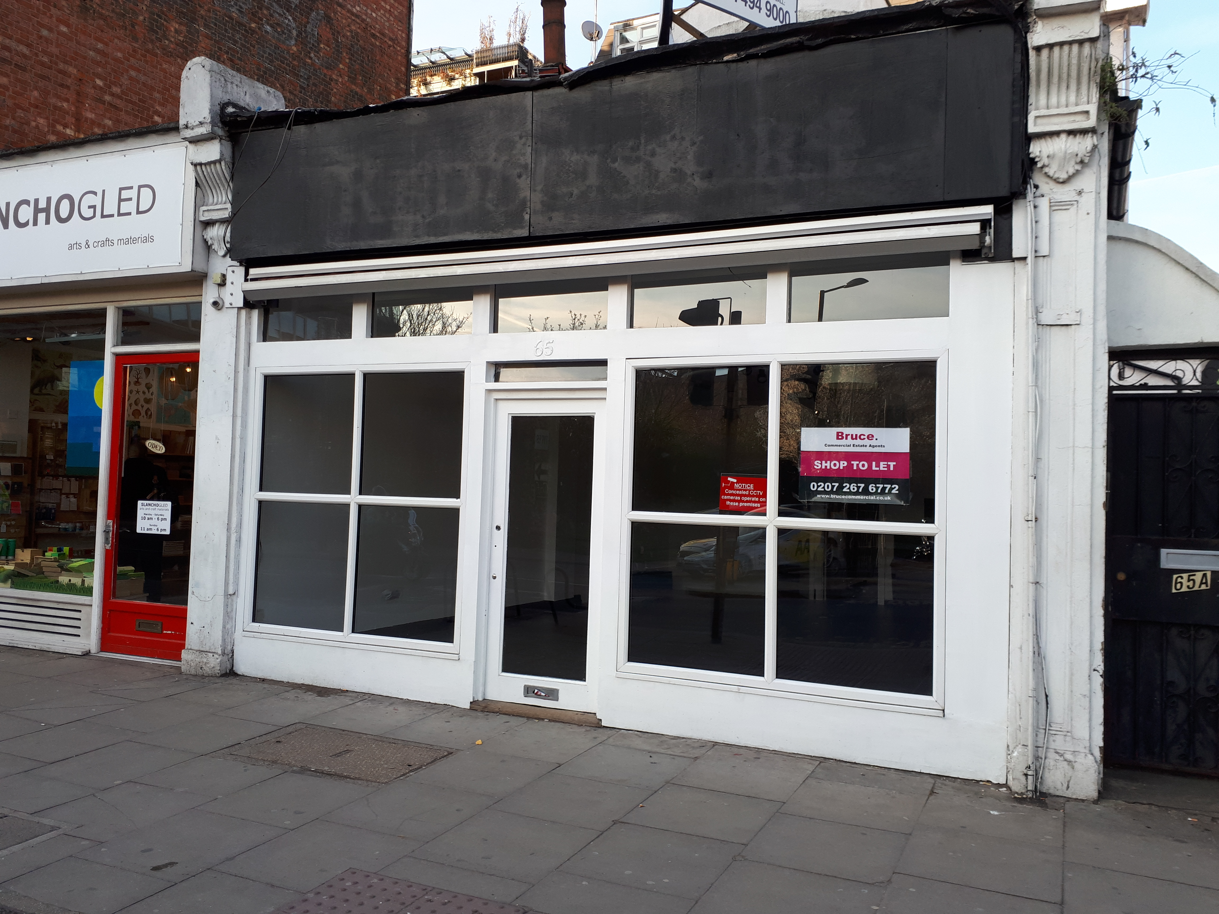 CHALK FARM ROAD SHOP TO LET 620 Sq Ft